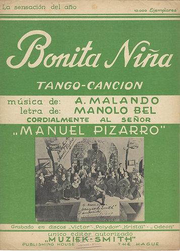 Malando   Bonita Nina   Piano   Zang