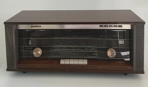 Philips Stereo Radio (model  B5X44A, from the sixties)