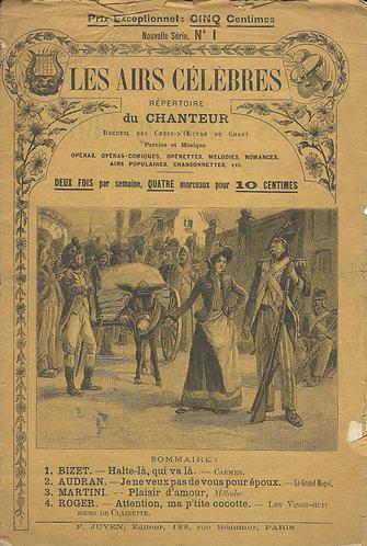 Georges Bizet | Martini | Audran | Roger| Les airs celebres de chanteur | Vocals