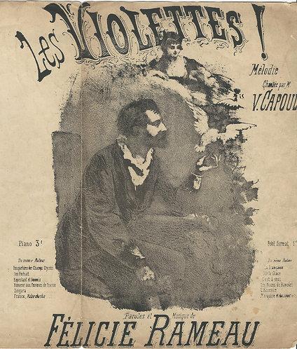 Felicie Rameau | V. Capoul | Les Violettes | Vocals
