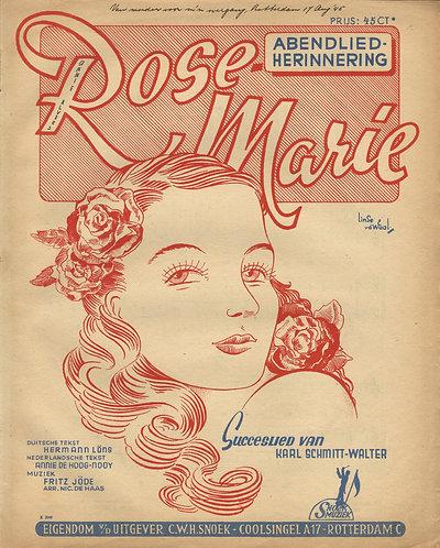 Fritz Jöde   Rose Marie   Piano   Vocals