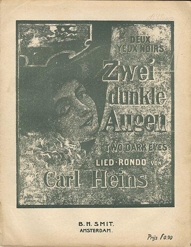 Carl Heins | Zwei dunkle Augen  Op. 212 | Piano | Vocals