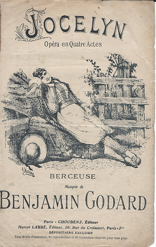 Benjamin Godard | Jocelyn | Chanson