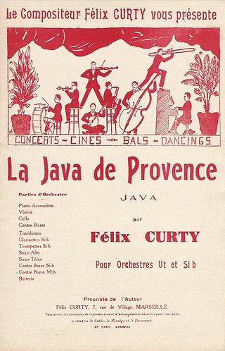 Felix Curty | La Java de Provence | Orchestra