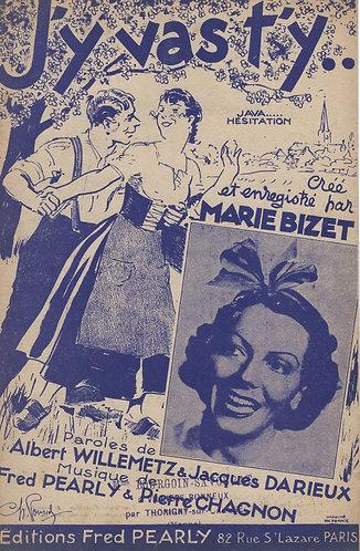 Marie Bizet | Fred Pearly | J'y vas t'y | Chanson