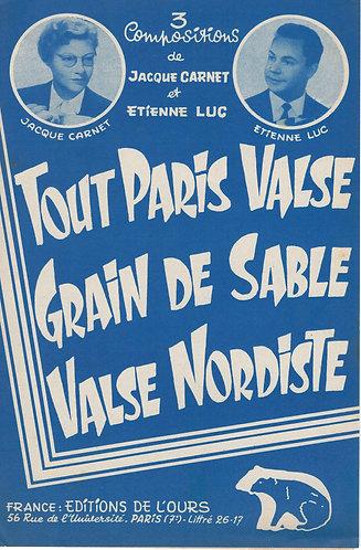 Etienne Luc | Jacque Carnet | Valse Nordiste | Accordeon