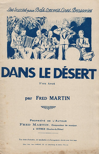 Fred Martin | Dans le desert | Accordion | Violin