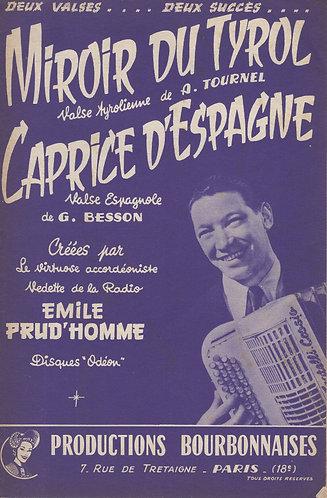 Armand Tournel   Emile Prud'homme   Cielo Azul   Accordion   Guitar