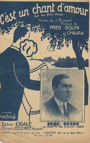Fred Gouin | Chaura | C'est un chant d'amour  | Vocals