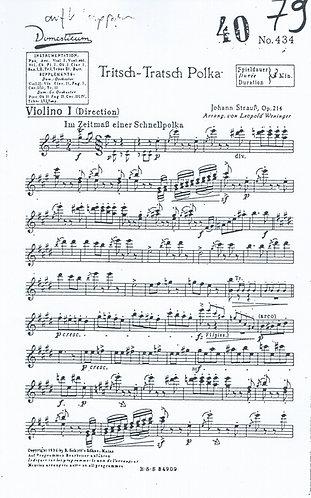 Johann Strauss | Trisch Trasch Polka | Orchestra