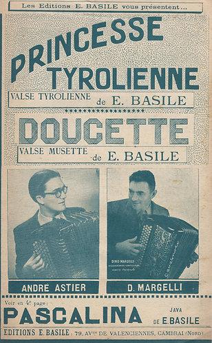 E. Basile | Dino Margelli | Princesse Tyrolienne | Accordion