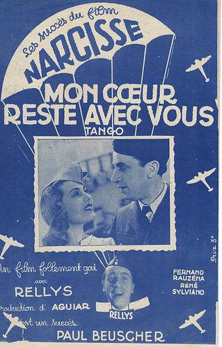 Rene Sylviano   Mon Coeur Reste Avec Vous   Narcisse   Chant   Vocals