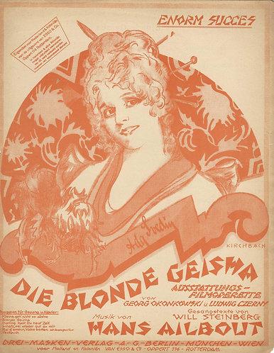 Hans Ailbout   Ludwig Czerny   Blonde Geisha   Piano   Vocals