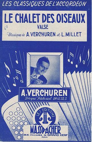 Andre Verchuren | L. Millot | Le chalet des oiseaux | Piano | Accordeon