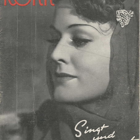 Marika Rökk, superstar German Second World War generation