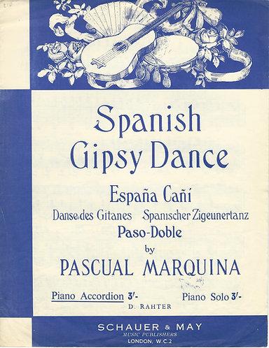 Pascual Marquina | Gerald Crossman | Spanish Gipsy Dance | Piano | Vocals
