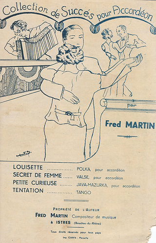 Fred Martin | Petite Curieuse | Accordion