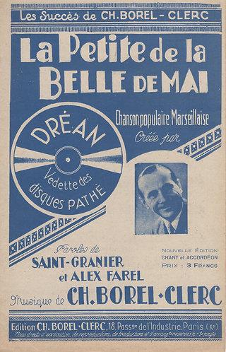 Drean | Ch. Borel-Clerc  | La Petite de la Belle de Mai | Chanson
