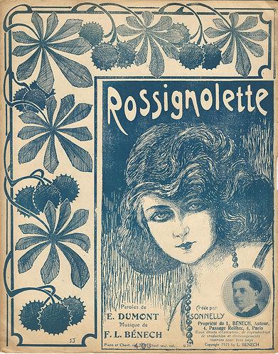 F.L. Benech | E. Dumont | Rossignolette | Piano | Vocals