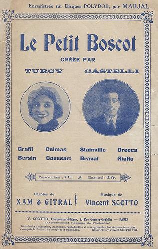 Vincent Scotto | Le Petit Boscot | Chanson