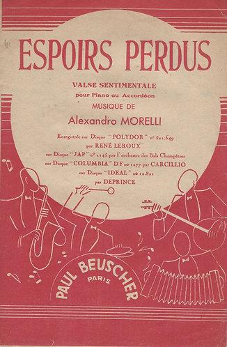 Alexandro Morelli | Espoirs Perdus | Piano | Accordeon
