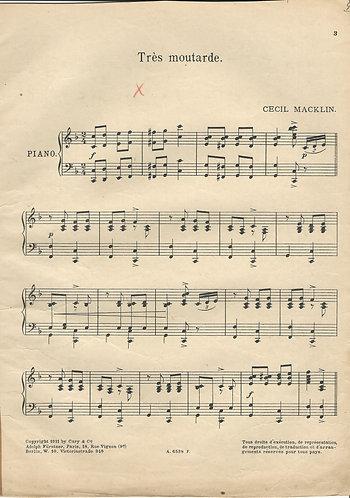 Cecil Macklin | Tres moutarde | Piano
