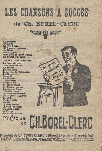 Ch. Borel-Clerc   Berard   Lison Lisette   Chanson