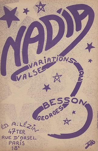 Georges Besson | A. Lezin | Nadia | Accordion | Piano