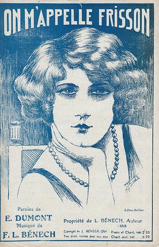 F.L. Benech | E. Dumont | On M'Appelle Frisson | Chanson