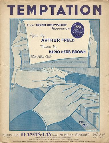 Bing Crosby | Nacio Herb Brown | Temptation | Piano | Vocals