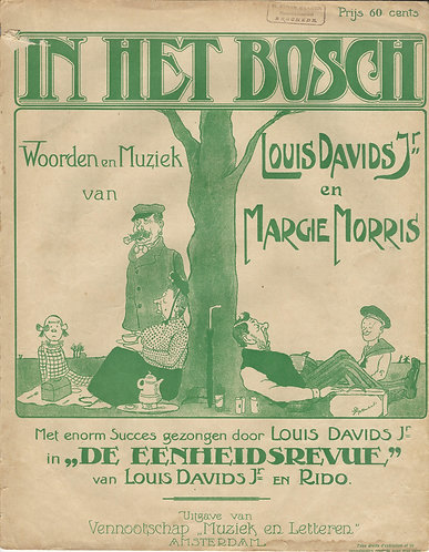 Louis Davids | Margie Morris | In het bosch | Piano | Vocals