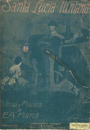 E.A. Mario | Santa Lucia Luntana | Piano | Vocals