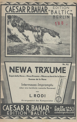 Leo Rodi | Newa Traume | Violin A and B