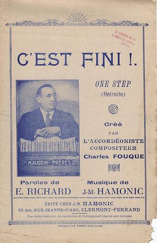 J.M. Hamonic | Charles Fouque | C'est Fini | Orchestra