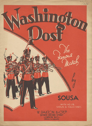 J.P. Sousa | Washington Post | Piano