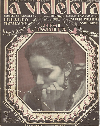 Jose Padilla | La Violetera | Piano | Vocals