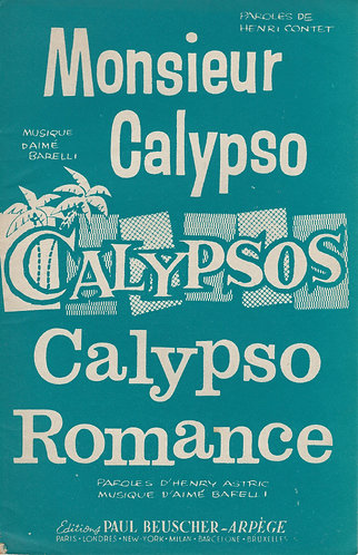 Aime Barelli | Monsieur Calypso | Chant | Accordeon | Violin