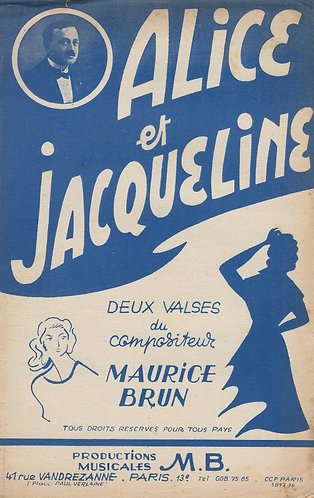 Maurice Brun | Jacqueline | Accordeon | Violin