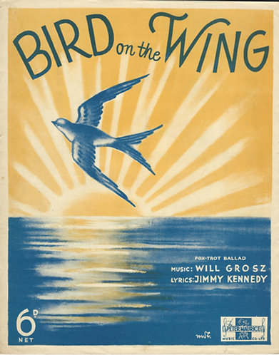 Will Grotz   Bird on the Wing   Piano   Vocals
