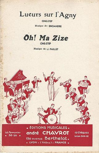 J. Paillet | Oh! Ma Zize | Piano