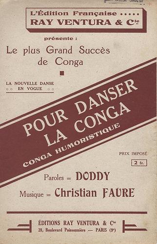 Ch. Faure | Doddy | Pour Danser la Conga | Chanson