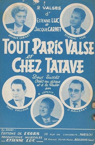 Jacque Carnet | Etienne Luc | Chez Tatave | Accordeon