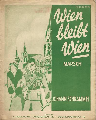 Johann Schrammel | Wien bleibt Wien | Piano