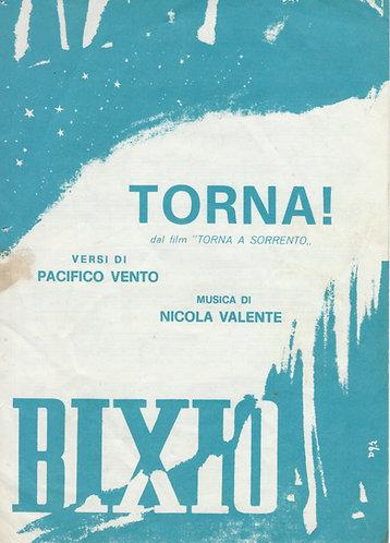 Nicola Valente | Torna | Chanson Italienne