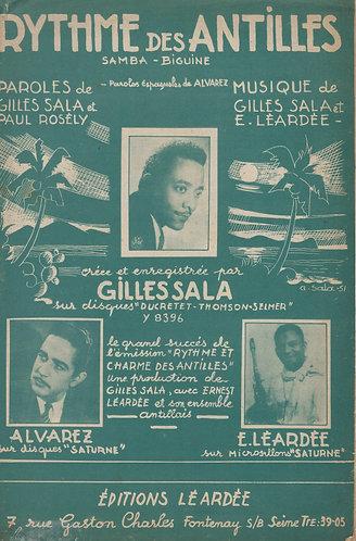 E. Leardee   Gilles Sala   Rythme des Antilles   Vocals