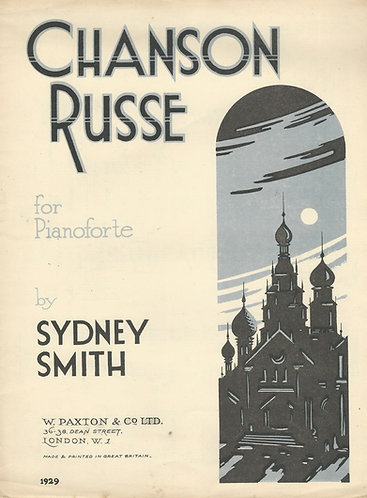 Sidney Smith | Chanson Russe Op. 31 | Piano