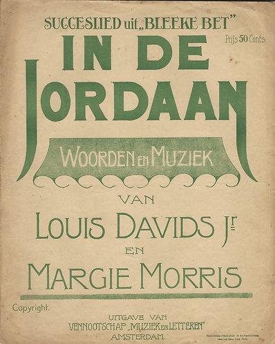 Louis Davids | Margie Morris | In de Jordaan | Bleeke Bet | Piano | Vocals