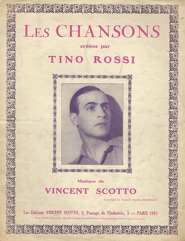 Tino Rossi | Vincent Scotto | Apres toi je n'aurai plus d'amour | Piano | Vocals