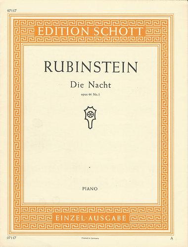 Anton Rubinstein | Die Nacht | Piano