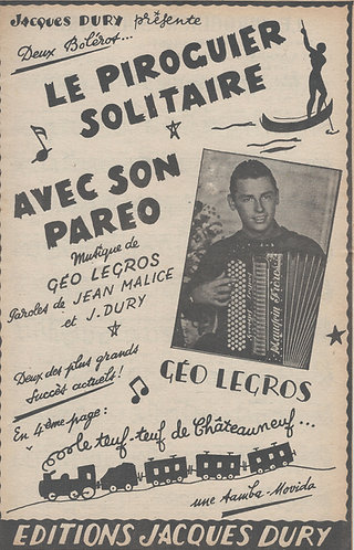 Geo Legros | Avec son Pareo | Accordion